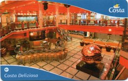 Chiave Magnetica- Hotel Key- Card Magnetic-ITALIA -COSTA DELIZIOSA-CABINE KEY - Chiavi Elettroniche Di Alberghi