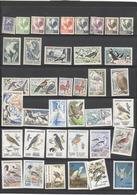 Lot De Timbres De France Thème Oiseaux - Collections, Lots & Series