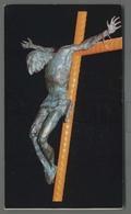 EG897b GESU CROCIFISSO SALERNO CHIESA OSPEDALE BRONZO Formato Cartolina - Religion & Esotericism