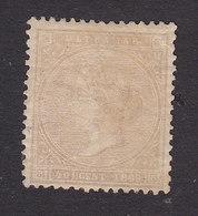 Cuba, Scott #41, Mint Hinged, Queen Isabella II, Issued 1869 - Cuba (1874-1898)