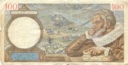 BILLET   CENT FRANCS SULLY 1940 - 1871-1952 Anciens Francs Circulés Au XXème