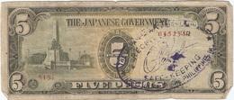 Filipinas - Philippines 5 Pesos 1943 Pick 110a.2 Ref 1753 - Filipinas