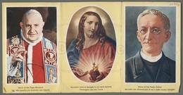 EG1077b SACRO CUORE DI GESU PADRE DEHON PAPA GIOVANNI XXIII COLLEGIO MISSIONARIO ANDRIA APRIBILE Formato Cartolina - Religion & Esotericism