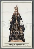 EM1545b MARIA SS. ADDOLORATA LOCOROTONDO BARI Formato Cartolina - Religion & Esotericism