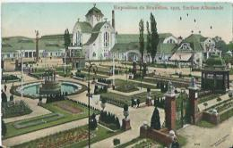 Bruxelles - Brussel - Exposition De Bruxelles 1910 - Section Allemande - Editeurs Valentine & Sons - Feesten En Evenementen
