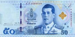 THAILAND 50 BAHT ND (2018) P-136 UNC  [TH194a] - Thailand