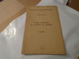 Rarissime Gergovie : ETUDE GEOLOGIQUE DU PLATEAU DE GERGOVIA 1948 ROBERT MICHEL - Auvergne