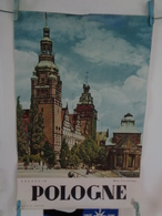 AFFICHE :POLOGNE , SZCZECIN , Wati Chrobrego , H69,6  L 46,2 - Posters