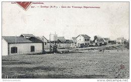 D64 LES PYRENEES ILLUSTREES - LEMBEYE - GARE DES TRAMWAYS DEPARTEMENTAUX - Lembeye