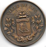 *medaille Ville De Spa Comcours Hippique International Spa 1934 - Andere