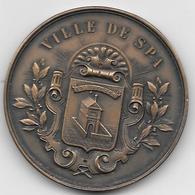 *medaille Ville De Spa Comcours Hippique International Officiel Spa 1935 5é Prix - Andere