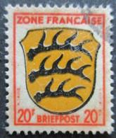 ZONE FRANCAISE N°8 Oblitéré - Zone Française