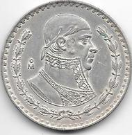 *mexico 1 Peso 1961  Km 459 - Mexico