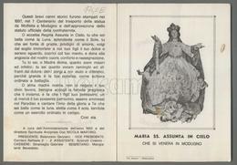 EM1740b MARIA ASSUNTA AL CIELO CHE SI VENERA IN MODUGNO APRIBILE Formato Cartolina - Religion & Esotericism