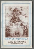 EM1763b MARIA SS. DEGLI ANGELI DETTA DEL CAVONE SECONDIGLIANO NAPOLI Formato Cartolina - Religion & Esotericism