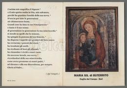 EM1765b MARIA SS. DI BUTERRITO CEGLIE DEL CAMPO BARI APRIBILE Formato Cartolina - Religion & Esotericism