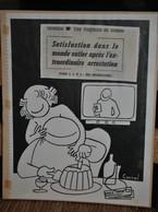 Très Rare Dessin Original Signé Carral à L'encre De Chine Dessin De Presse 1962 Guerre D'Algérie - Original Drawings
