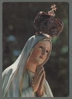 EM1943f MADONNA DI FATIMA STATUA CHE PIANSE A NEW ORLEANS NEL 1972 LUCI SULL'EST Formato Cartolina - Religion & Esotericism