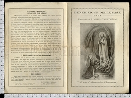 EM2140b MADONNA DI LOURDES APRIBILE PIEGATA - Religion & Esotericism