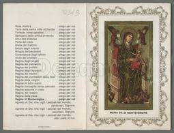 EM2231b MARIA SS. DI MONTEVERGINE APRIBILE ORAZIONE LITANIE Formato Cartolina - Religion & Esotericism