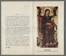 EM2232b NOVENA ALLA MADONNA DI MONTEVERGINE APRIBILE Formato Cartolina - Religion & Esotericism