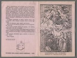 EM2422c MADONNA DEL ROSARIO BARLETTA PARROCCHIA S. LUCIA APRIBILE - Religion & Esotericism