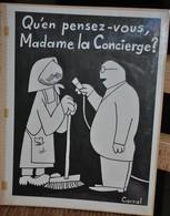 Très Rare Dessin Original Signé Carral à L'encre De Chine Dessin De Presse 1962 Guerre D'Algérie Général De Gaulle - Original Drawings