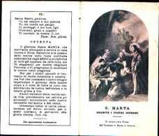 79268) SANTINO DI SANTA MARTA.CON CORONA IN ONORE DI S. MARTA - Religion & Esotericism
