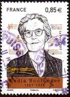 France Oblitération Cachet à Date N° 5169 - Musique, Pianiste, Organiste, Etc.. Nadia Boulanger - Used Stamps