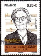 Oblitération Cachet à Date Sur Timbre De France N° 5169 ** Musique, Pianiste, Organiste, Etc.. Nadia Boulanger - Francia