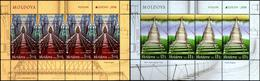 "Moldova 2018. Europa - CEPT ""Bridges"" 2 MS. Booklet N2. Quality: 100% - 2018"