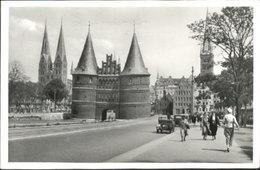40485941 Luebeck Luebeck Kirche Salzspeicher Holstentor X 1939 Luebeck - Germany