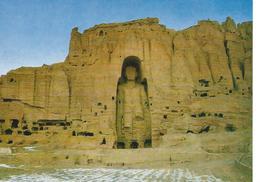 Afghanistan Bamiyan High Buddha Statue In  Bamiyan Cpsm TBE - Afghanistan