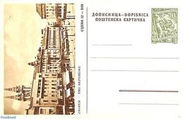 Yugoslavia 1955 Illustrated Postcard 10Din, (Unused Postal Stationary) - Ganzsachen