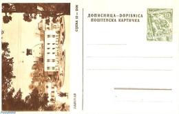 Yugoslavia 1955 Illustrated Postcard 10Din, Daruvar, (Unused Postal Stationary) - Ganzsachen