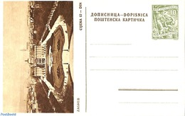 Yugoslavia 1955 Illustrated Postcard 10Din, Zagreb, (Unused Postal Stationary) - Ganzsachen