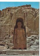 Afghanistan Bamiyan The Great Buddha 53 M High  Bamiyan   Cpsm TBE Tmbrée écrite 1974 - Afghanistan