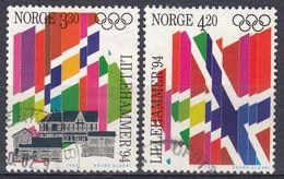 NORGE - 1992 - Serie Completa Di 2 Valori Usati: Yvert 1062/1063, Come Da Immagine. - Gebraucht