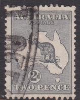Australia SG 35 1915 Kangaroo 2d Grey, Used - Used Stamps