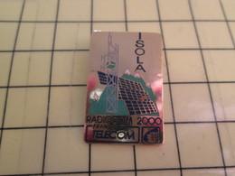 Sp01 Pin's Pins : Rare Et Belle Qualité  FRANCE TELECOM / ISOLA RADIOCOM 2000 - France Telecom