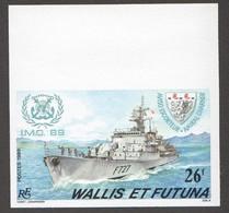 1989  Aviso-escorteur «Amiral Charner»  Yv 384  Non-dentelé ** - Imperforates, Proofs & Errors