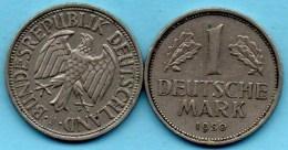 (r65)  GERMANY Fédéral Rép  1 MARK 1950 J - [ 7] 1949-… : FRG - Fed. Rep. Germany