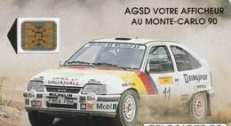 TELECARTE 50...AGSD VOTRE AFFICHEUR AU MONTE CARLO  (OPEL) - Francia
