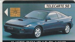 TELECARTE 50...BREST AUTOMOBILE CONCESSIONNAIRE TOYOTA...TIRAGE 1000 EX - France