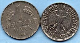 (r65)  GERMANY Fédéral Rép  1 MARK 1962 G - [ 7] 1949-… : FRG - Fed. Rep. Germany