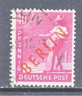Berlin 9N29   (o)   RED OVPT. - [5] Berlin