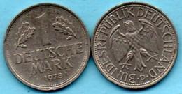 (r65)  GERMANY Fédéral Rép  1 MARK 1978 D - [ 7] 1949-… : FRG - Fed. Rep. Germany