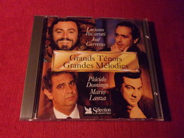 SELECTION DU READER'S DIGEST  °° LES GRANDS TENORS GRANDES LUCIANO PAVAROTTI  CD DUREE TOTALES 67 Mn 01 - Opera
