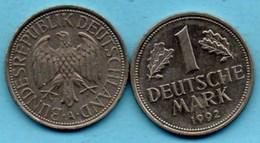 (r65)  GERMANY Fédéral Rép  1 MARK 1992 A - [ 7] 1949-… : FRG - Fed. Rep. Germany