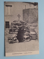 Fontaine St.-Qurin - Luxembourg-Grund ( Wirol-Fiedler - 6652 ) Anno 1912 ( Zie Foto ) ! - Lussemburgo - Città